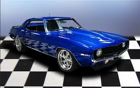 blue 1969 camaro 1969 chevrolet camaro 2 door pro touring coupe 79204
