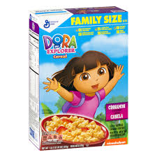 Breakfast Food Cereal Walmart Com by Dora The Explorer Cereal 18 Oz Box Walmart Com