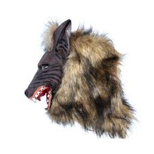 aliexpress com buy scary full head wolf mask for masquerade