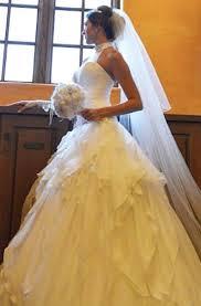 Custom Made Wedding Dresses Franco Montoro Custom Made Wedding Dress On Sale 72 Off