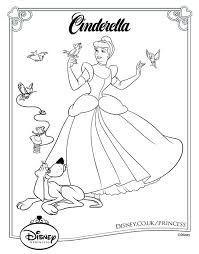 40 disney princess coloring pages images