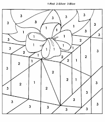 christmas number coloring pages glum
