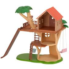 sylvanian families garden set sylvanian families treehouse amazon co uk toys u0026 games