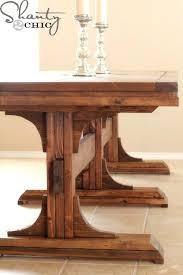 pedestal table base ideas fantastic reclaimed wood pedestal dining room table base ideas