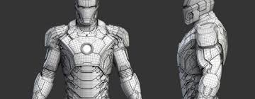 iron man free 3d model cinema 4d tutorials