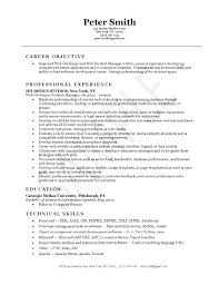 sample resume product manager product manager cover letter sample