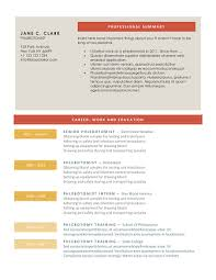 Free Colorful Resume Templates Download 10 Professional Phlebotomy Resumes Templates Free