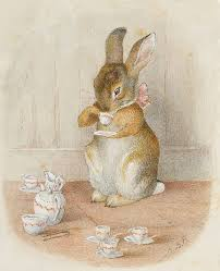 rabbit by beatrix potter by beatrix potter bunny teas and tea time