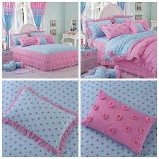 Korean Comforter Girls Bed Skirt Bedroom With Twin Bedspreads Bedroom With