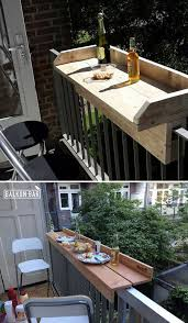 20 insanely cool diy yard and patio furniture balcony railing