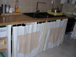 changer porte cuisine changer porte cuisine avec rideau sous evier cuisine luxury