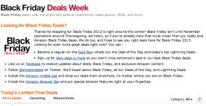 amazon 2013 black friday black friday leaked ads u0026 sales holiday gift nation