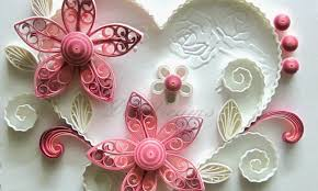 Quilling Designs New Art U0026 Craft How To Make Beautiful Quilling Pink Flower