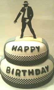 i design michael jackson cake
