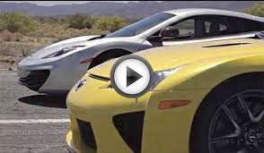 bugatti vs bugatti veyron vs lamborghini aventador vs lexus lfa vs mclaren