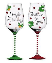 christmas glasses christmas wine glass painting ideas best 25 christmas glasses