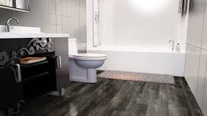 Vinyl Laminate Flooring For Bathrooms Home Expressions Meadow Oak Taupe Gray Luxury Vinyl Plank Flooring