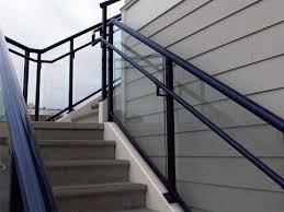 guardrail solutions for outdoor stairways safe access to