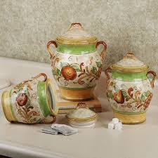 tuscan style kitchen canister sets 87 best canister sets images on vintage canisters