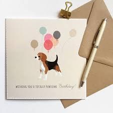beagle birthday card u2013 gangcraft net