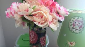 Chic Flower Diy Dollar Tree Spring Shabby Chic Flower Arrangement Quick