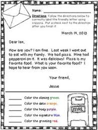 best ideas of letter writing worksheets for grade 3 for your