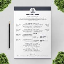 resume cv templates colorful polite resume template