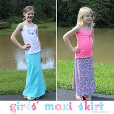 skirts to the max maxi skirt pattern for girls the real thing