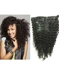curly hair extensions clip in black 16 inch 7pcs curly hair extensions clip in