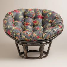 furniture interesting double papasan chair frame for cozy home