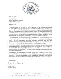thanksgiving letter to employees appreciation letter from good shepherd episcopal white