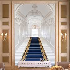 3d Wallpaper Interior European Style Photo Wallpaper Custom 3d Wall Murals White Palace