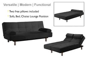 Sofa Bed Chaise Lounge Black Modern Futon Sofa Bed Jamaica Futon Frame The Futon Shop