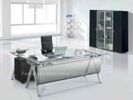 glass top office desk cool ideas desk modern modest modern office desk white white home