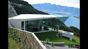 futuristic ultra modern luxury home with 270 degree panoramic