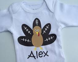 Thanksgiving Shirts For Toddler Boy Boys Thanksgiving Football Turkey Shirt Baby Boy