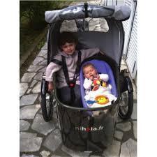 siege pour remorque velo nihola siège bébé chez cyclable
