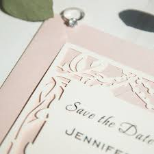 save the date cards cheap rustic tree stringlights laser cut wedding save the date cards