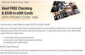 buy e gift cards with checking account mn wi only ideal credit union 100 100 in gift cards