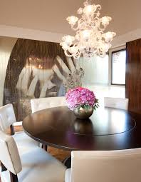 Expandable Round Dining Room Tables Expandable Round Dining Table Dining Room Eclectic With None