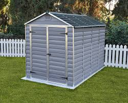 palram skylight 6 x 12 polycarbonate shed grey ebay