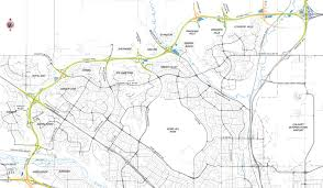 Calgary Map The Ring Road System U2013 The Provincial Road 2001 To 2012