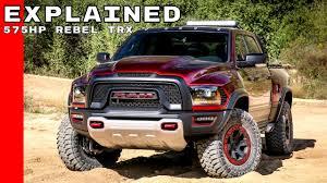 concept work truck dodge ram rebel trx concept truck explained youtube