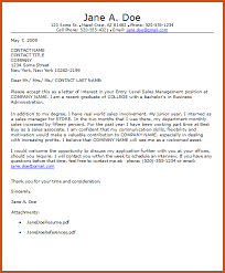 entry level sales cover letter entry level cover letter sample