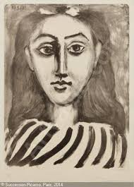 tête de femme head of a woman from picasso dessins picasso