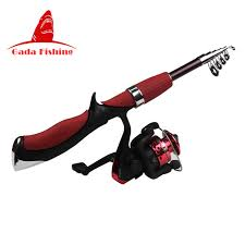 ultra light rod and reel sougayilang telescopic fishing rod spinning reel superhard ultra