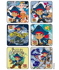captain jake land pirates disney stickers kids