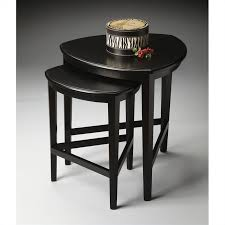 butler specialty nesting tables butler specialty loft nesting tables in black licorice 7010111
