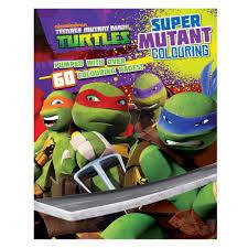 teenage mutant ninja turtles colouring book parragon 10