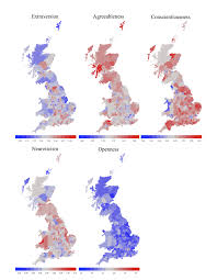 regional personality differences in great britain
